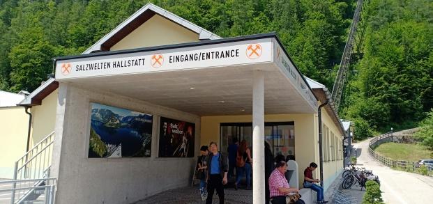 stasiun cable car Hallstatt