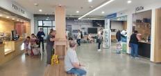 ruangan tunggu Terminal Bis Bratislava