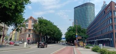 Jalan di Bratislava yang lengang