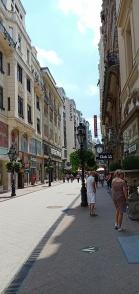 kawasan pusat kota Budapest
