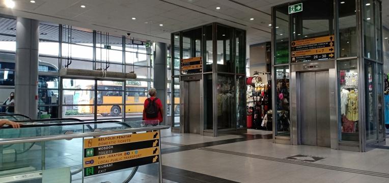 Interior terminal