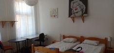 Kamar kami di apartemen Sebastjan