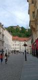 Old town and Ljubljana Castle