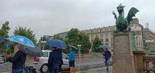 Rainy Ljubljana