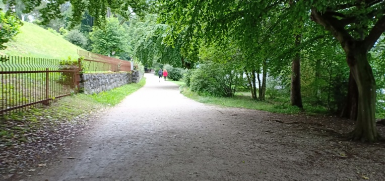 Taman menuju View Point