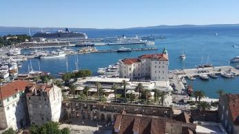 Terminal, Stasiun Kereta dan Pelabuhan Split