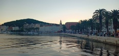 Sore di Riva yang romantis