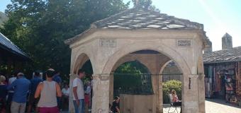 Air Mancur di Pelataran Mesjid Koski Mehmet Pasha