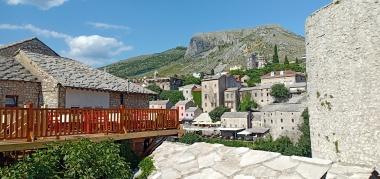 Pemandang kota tua Mostar