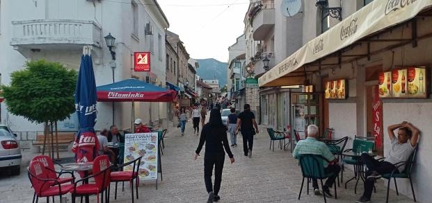 Jalan menuju kawasan kota tua