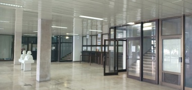 Creepy train station in Mostar