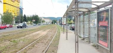 Halte Muzeji depan museum