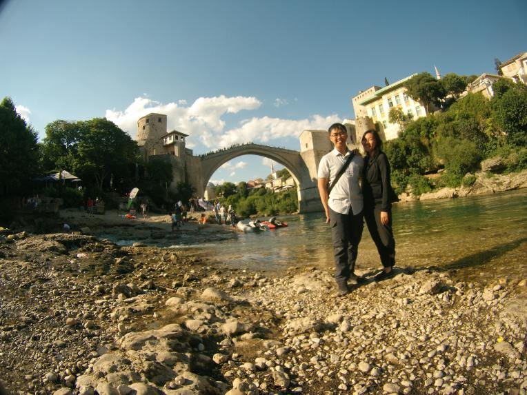 Smile, you are at Mostar
