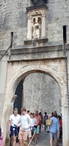 Pile Gate, gerbang masuk turis menuju Dubrovnik